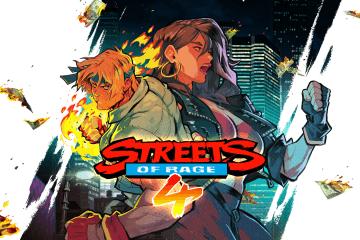 Streets of Rage 4 Super Amazing Logo