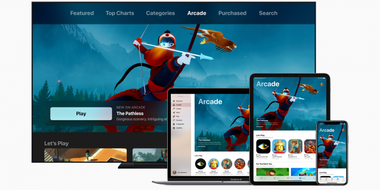 Apple Arcade on multiple devices