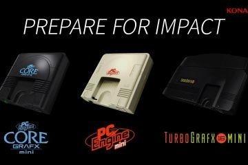 TurboGrafx16 mini announced