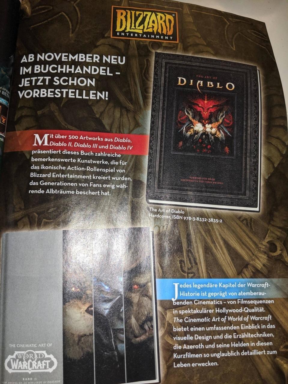Diablo 4 leaked magazine image