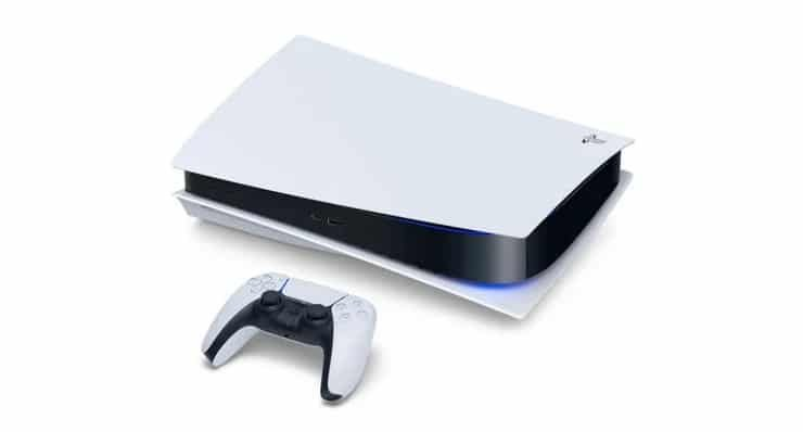 PS5 can lay sideways