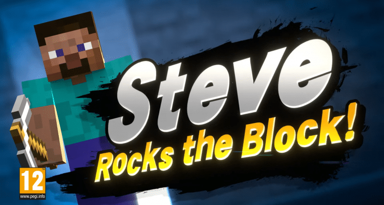 How to play as Steve from Minecraft in Super Smash Bros