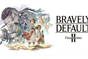 Bravely Default II Final Demo Nintendo Switch
