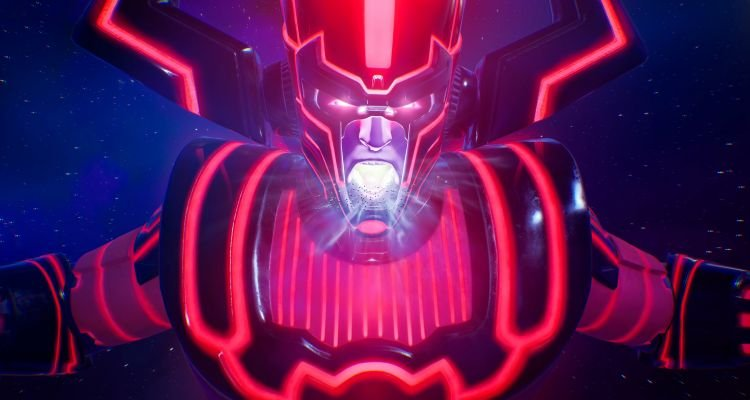 Fortnite Galactus Event - He Looks Pissed