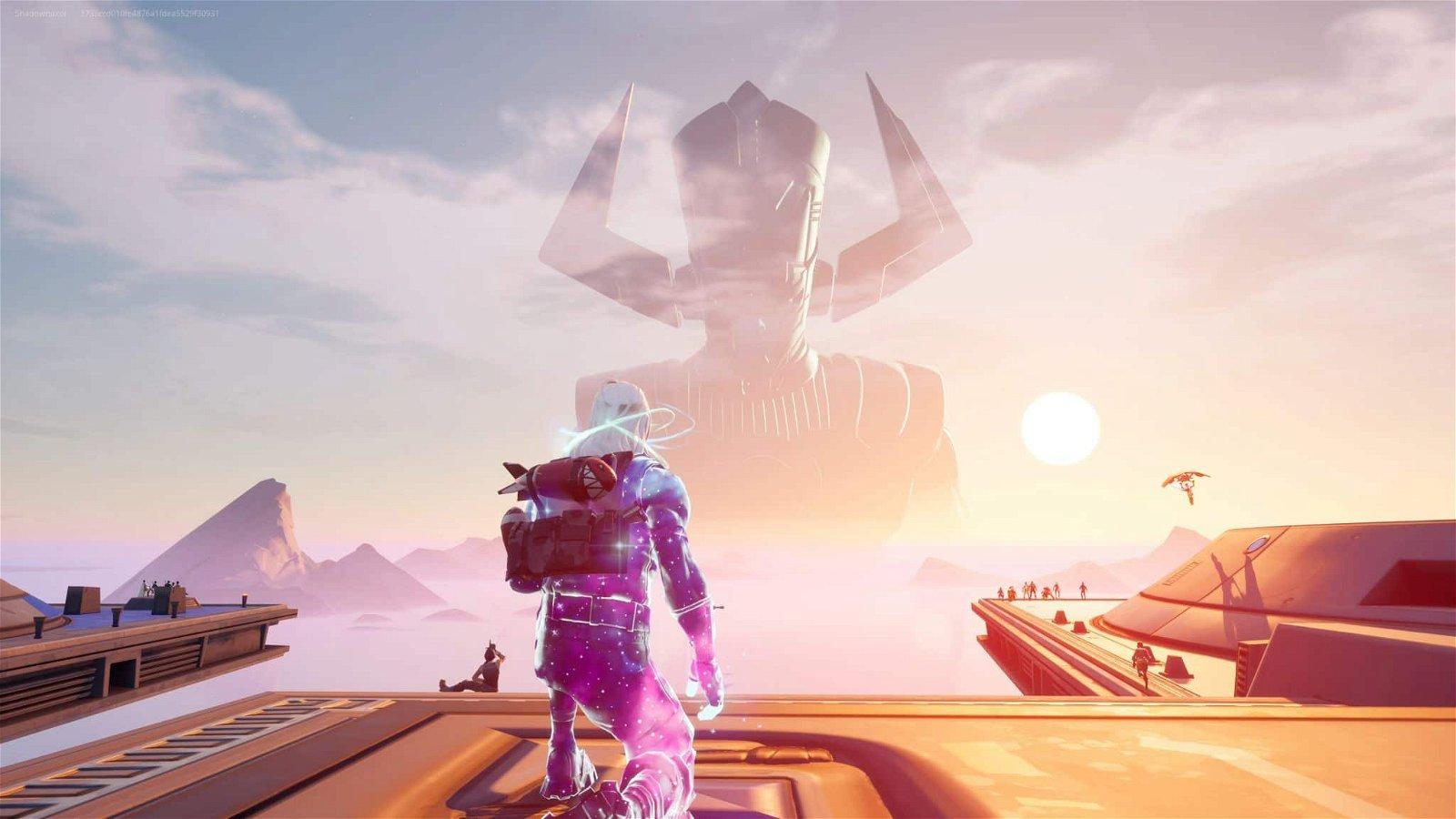 Fortnite Galactus Event - He's Here