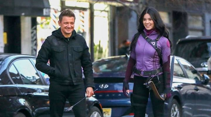 Hailee Steinfeld as Kate Bishop: See her on the 'Hawkeye' set