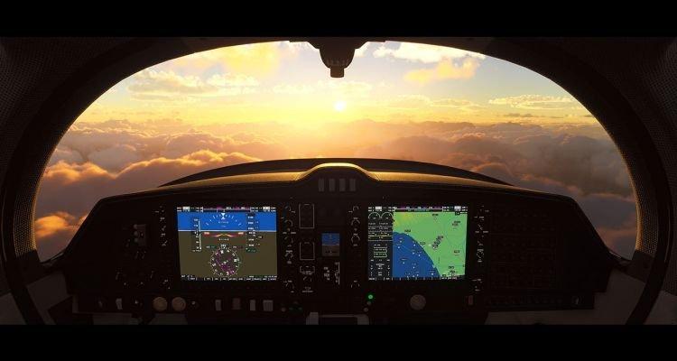 Microsoft Flight Simulator Update Brings Virtual Reality