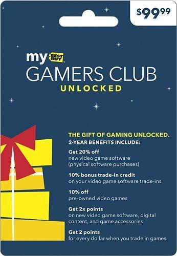 Best Buy gamers club membership card