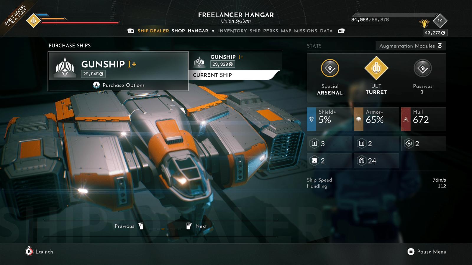 Everspace 2 Gunship