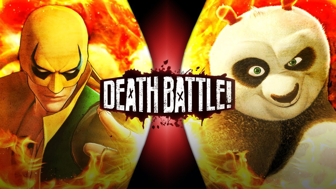 Iron Fist vs Po Death Battle