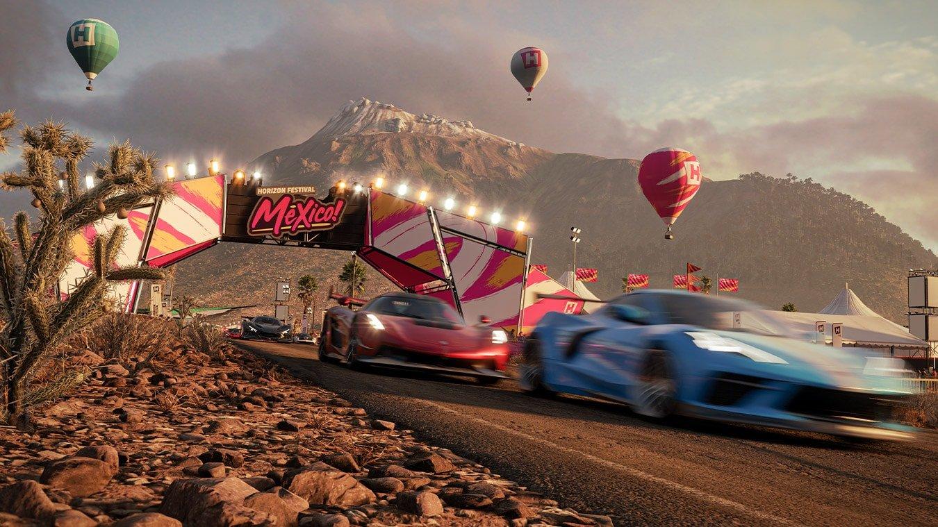 Forza Horizon 5 - Cars in blur