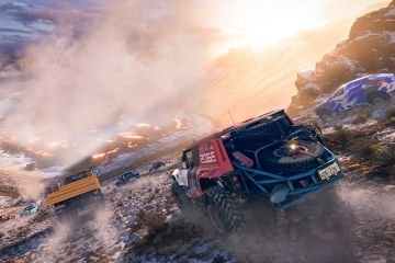 Forza Horizon 5 -Tearing up the off-road