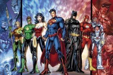 DC Comics Justice League Webtoon