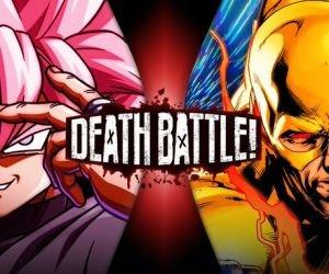 Goku Black vs Reverse-Flash Death Battle