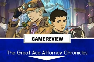The Great Ace Attorney Chronicle review header