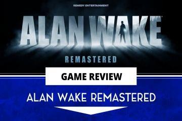 Alan Wake Remastered Title Card